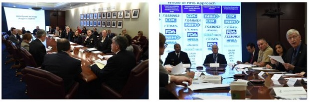 Readout of Acting HHS Secretary Hargan Holds High-Level Opioids Meeting