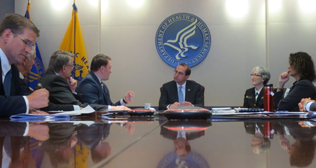 Readout of HHS Secretary Azar's Listening Session with State PDMP Leaders