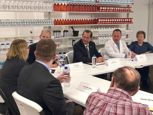 Readout of Secretary Azar's Community Pharmacy and Patient Roundtable in Pittsburgh