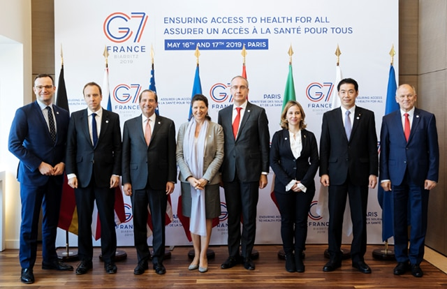 Secretary Azar Participates in Final Day of G7 Health Ministerial Meeting and Global Health Security Initiative Special Ministerial Meeting on Ebola