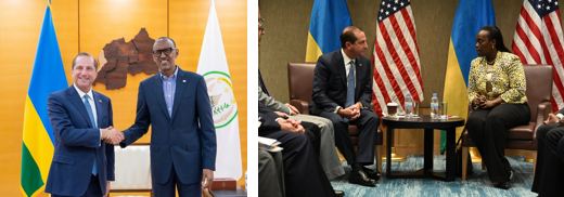 Secretary Azar Meets with Rwandan President Paul Kagame on Ebola Preparedness