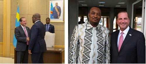 Secretary Azar Meets with Democratic Republic of the Congo President Felix Tshisekedi about Ebola Outbreak