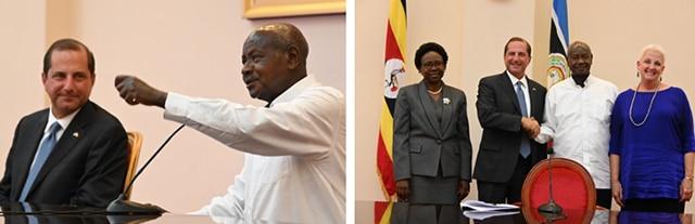 Secretary Azar Meets with Ugandan President Yoweri Museveni on Ebola Preparedness