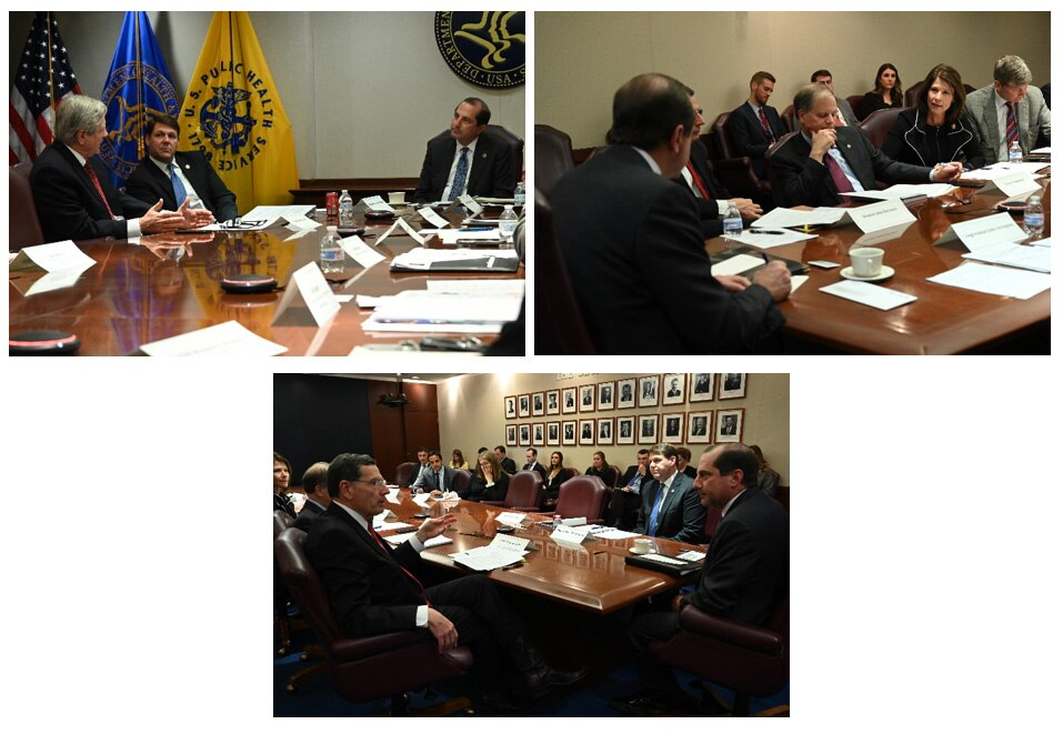 Secretary Azar Hosts Bipartisan Rural Health Roundtable with Members of Congress